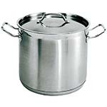 Update International SPS-8 - Stock Pot, 8 quart, with cover, induction ready