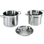 Update International SDB-08 - Double Boiler, 8 quart, 10-1/16