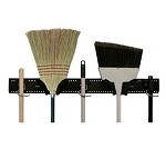 Update International MBR-36 - Mop & Broom Rack, 36