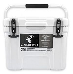 Caribou 51872 - Caribou Cooler, 20 Liter Capacity, White