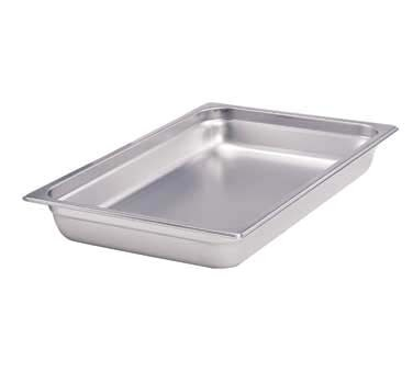"Crestware 2226 - Steam Table/Holding Pan, 1/2 size long, 6"" deep, (Case of 24)"