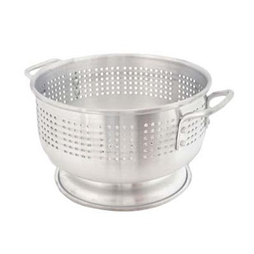 "Crestware ACOL21M - Colander, 21 qt., 18"" overall x 7-3/4""H, footed, (Case of 5)"