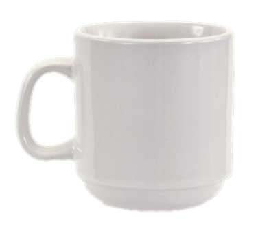 Crestware AL15 - Mug, 10 oz., stackable, (Case of 36)