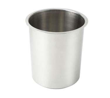 Crestware BM06 - Bain Marie, 6 qt., 18/8 polished stainless steel, (Case of 24)