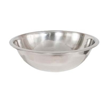 Crestware MB08 - Mixing Bowl, 8 qt., mirror finish, (Case of 24)