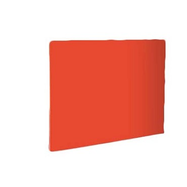 "Crestware PCB1824R - Cutting Board, 18"" x 24"" x 1/2"", color coded, red, (Case of 6)"