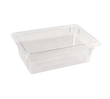 "Crestware SBF6 - Storage Box, 18"" x 26"" x 6"", full size, clear, (Case of 6)"