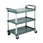 Crestware LTROLLEY - Large 3-Tier Cart, 19-1/2