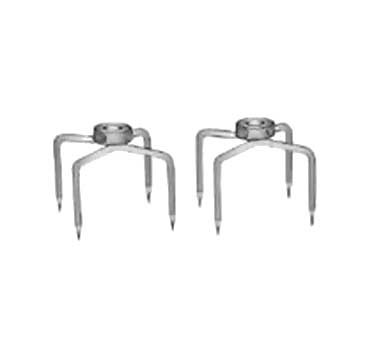 "Crown Verity CV-FA-5 - Fork assembly, 5"" - complete set of 2, for heavy duty rotisserie"