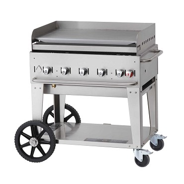 Crown Verity CV-MG-36NG - Outdoor Griddle, mobile, Natural gas