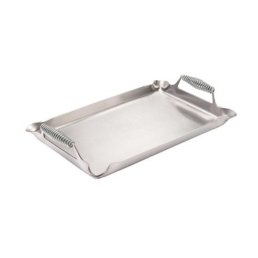 "Crown Verity CV-SP-1423 - Removable Griddle Plate, 19-1/2"" W x 12"" D"