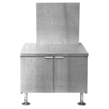 "Crown Steam CG-325 - Steam Generator, gas, 36"" cabinet base, freestanding design"