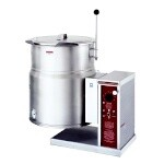 Crown Steam EC-6TW - Tilting Kettle, electric, countertop, 6 gallon, 2/3 jacket, lever tilt on right