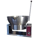 Crown Steam ECTRS-16 - Tilting Skillet, electric, countertop, 16 gallon, manual tilt, side mount pivots