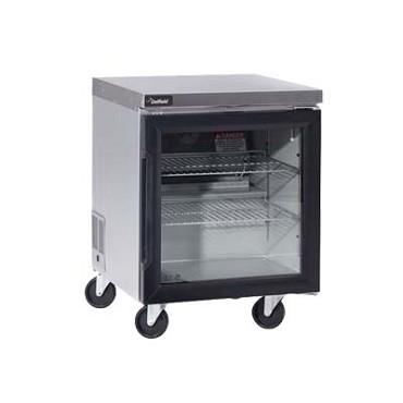 Delfield GUR60P-G - Undercounter Refrigerator, 2-Section