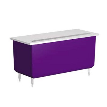 "Delfield KCU-36 - Beverage Serving Counter, 36""W, fiberglass storage base"