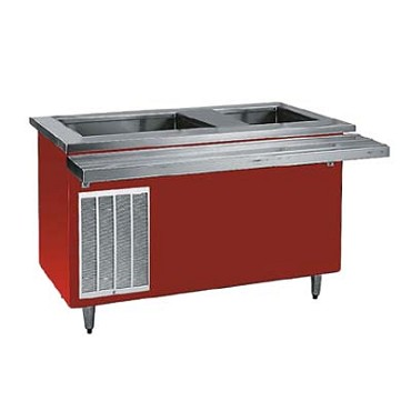 "Delfield KHCR-60-BP - Hot/Cold Serving Counter, 60"" L, (1) hot wells, cooled 26"" x 21.62"""