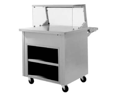 "Delfield SC-50-NU - Solid Top Serving Counter, 50"" long, enclosed base"