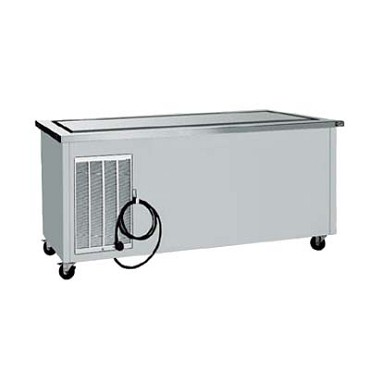 "Delfield SCFT-74-NUP - Frost Top Serving Counter, 74"" long, stainless enclosed base"