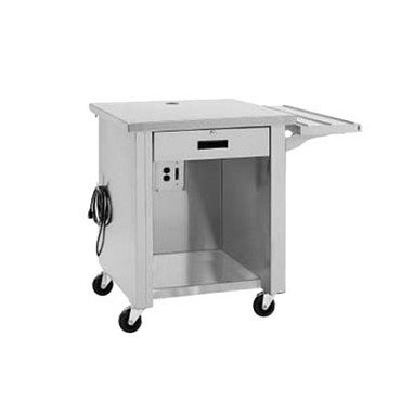 "Delfield SCS-30 - Cashier Counter, 30"" deep, stainless steel top & body"