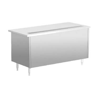 "Delfield SCU-96-NU - Beverage Serving Counter, 96""W, stainless steel enclosed base"