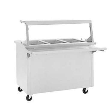 Delfield SH-2-NU - Hot Food Serving Counter, 2-pan capacity, enclosed base