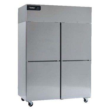 Delfield GBR2P-SH - Reach-In Refrigerator, 2-Section, 46 Cubic Feet
