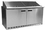 Delfield D4460NP-8 - Sandwich/Salad Prep Table, two-section, 60