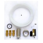 Dipwell INSTALL KIT - Installation Kit: leather gasket, coupling nut, tall piece