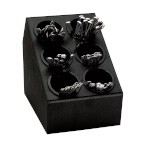 Dispense-Rite CTSH-6BT - Silverware Organizer, with inserts, 6 compartment