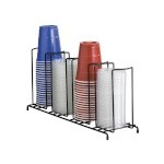 Dispense-Rite WR-4 - Lid/Cup Organizer, wire rack, 4 section