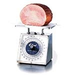 Edlund RM-25 - Dial Portion Scale, 25 lb. Capacity