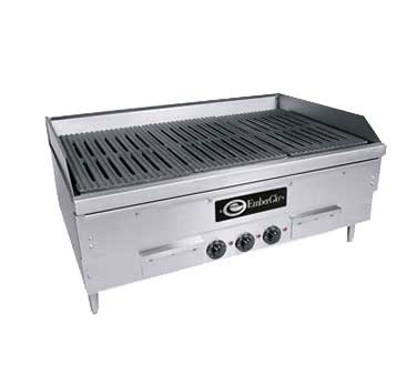 "EmberGlo E2436 - Char-Broiler, Electric, counter model, 36"" wide"