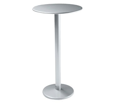 Emu 902h Bistro Bar Table Round 32 Dia X 42 H Outdoor Indoor Solid Steel Pedestal