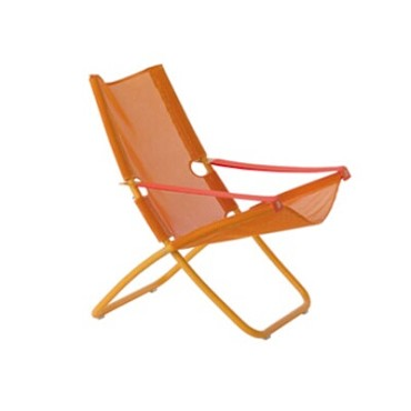 EMU 201 - Outdoor Snooze Lounge Chair w/EMU-tex Fabric Seat & Back