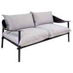 EMU 730 - Terramare Lounge Loveseat, outdoor/indoor, eco-leather back