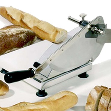 Eurodib 703SF1P - Bread Slicer, hardened steel blade, polyethelene base