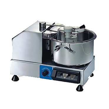 Eurodib C4VV - Food Cutter, 4 liter capacity, horizontal, variable speed, see-through lid