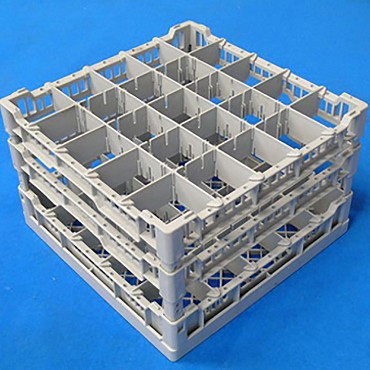 Eurodib CC00128 - Lamber Dishwasher Glass Rack, holds up to 25 glasses, plastic