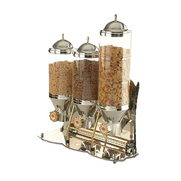 Eurodib SUNRISE2 - Cofrimell Cereal & Nuts Dispenser, 2 tanks, 2 gallon total ca
