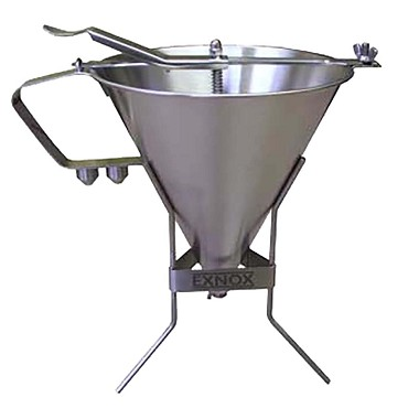 Eurodib EX180014 - Sauce Funnel and Stand - 1.9 L (2 qt) capacity