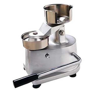 Eurodib HF-100 - Hamburger Press, compact design, anodized aluminum alloy hambur