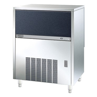 Eurodib CB674A HC AWS - Brema Undercounter Cube Ice Machine 88 lb. Production