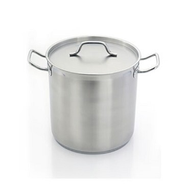 "HOM484040 Eurodib - Homichef Induction Stock Pot, 52.9 qt., 15-3/4"" dia."
