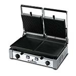 Eurodib PDR3000 - Panini Grill, double, ribbed top and bottom, 10inch x 20inch