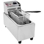Eurodib SFE01860D-240 - Countertop Fryer, electric, 8-1/2 qt. oil capacity, 240v