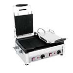 Eurodib SFE02365-240 - Panini Grill, double, all sides ribbed, 11