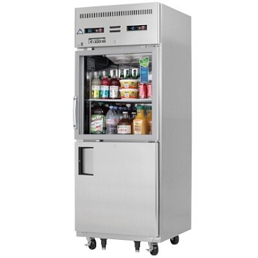 Everest Refrigeration EGSDH2 - Reach-In Dual Temp, 1-Section