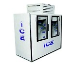 Fogel Ice Merchandisers ICB-2-L-GL - Indoor Ice Merchandiser, 85 Cubic Feet