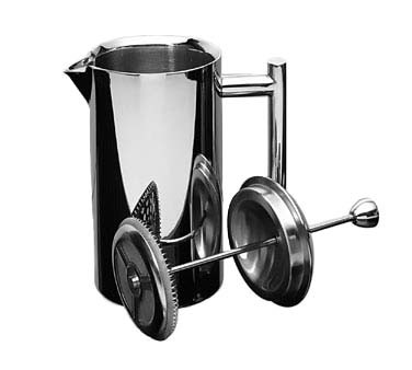 Frieling 102 - Double Wall French Press, 17 oz. Mirror Finish